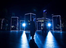 Emaar, Dubai Tourism launch new light installation in Downtown Dubai