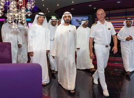 In pictures: Sheikh Mohammed tours Italian cruise ship MSC Splendida docks in Dubai