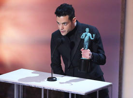 Rami Malek wins Screen Actors Guild Award for Bohemian Rhapsody
