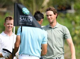 Thomas Pieters fires 63 to lead inaugural Saudi International