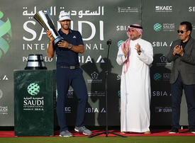 In pictures: Dustin Johnson wins inaugural Saudi International by two strokes