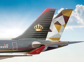 Etihad Airways announces new codeshare partnership with Royal Jordanian