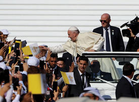 Visit by Pope Francis puts UAE's promotion of tolerance on the world stage