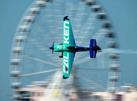 Japan's Muroya wins Red Bull Air Race in Abu Dhabi