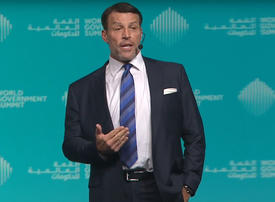 Tony Robbins and UAE to team up to feed 1bn people