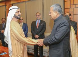 In pictures: Ruler of Dubai receives Chief Minister of Indian State of Kerala