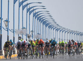 In pictures: UAE Team Emirates Kristoff wins stage 1 of the Tour of Oman