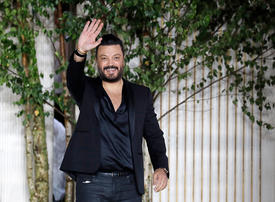 Arab fashion students are 'weak', says Zuhair Murad