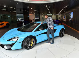 Dubai labourer wins $210,000 McLaren supercar