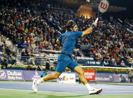 Federer starts 100th title bid with Kohlschreiber win in Dubai