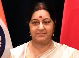 Veteran female Indian politician Sushma Swaraj passes away