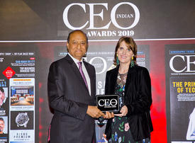 In pictures: Paras Shahdadpuri scoops top prize at Indian CEO Awards 2019