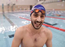 Video: 'I nearly drowned, now I dream of Olympic glory'