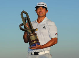 Kitayama takes Oman Open with late surge