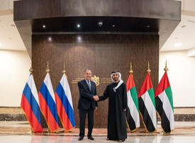 In pictures: Russian counterpart Sergey Lavrov meets Abdullah Bin Zayed in Abu Dhabi
