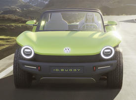 In pictures: Volkswagen's electric ID BUGGY concept off-roader