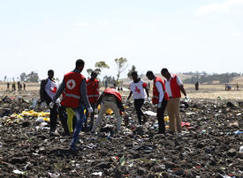 In pictures: Ethiopian Airlines Boeing crashed minutes after takeoff