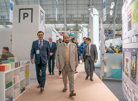 In pictures: Sultan Al Qasimi visit to the Sharjah Pavilion at London Book Fair