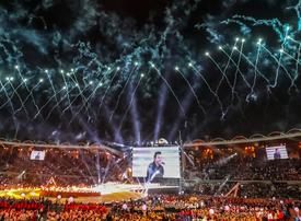 Abu Dhabi puts on spectacular show as Special Olympics opens