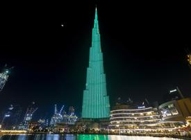 UAE's iconic buildings go green for Ireland's national day