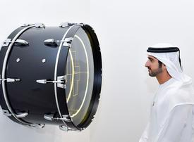In pictures: Sheikh Hamdan visits Art Dubai