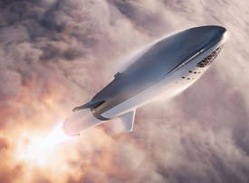 Video: Watch Elon Musk unveil his latest plan for conquering Mars