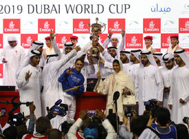 Sheikh Mohammed's Thunder Snow makes history with second Dubai World Cup