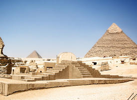 Video: Egypt reopens pyramids to tourists after virus closure