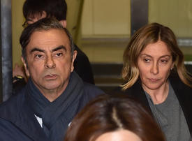 Carole Ghosn wants husband sent to France after 'hardest year'