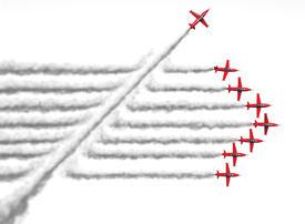 Where do disruptive ideas happen? Not on a big team