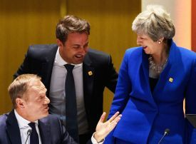 EU gives Britain six months to sort out Brexit plans