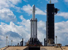 SpaceX launches mission for Saudi Arabia's Arabsat