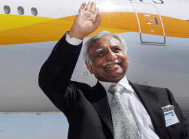 Jet Airways founder Naresh Goyal refused permission to travel overseas
