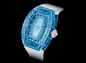 Richard Mille's fresh approach to diamonds with Gem-Set Sapphire