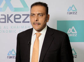 Video: Ravi Shastri appointed by RAKEZ to woo Indian investors to the UAE