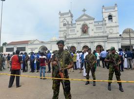Bomb blasts at Sri Lanka hotels and churches kill nearly 160