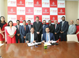 Emirates airline to add six Indian cities to network with SpiceJet codeshare partnership