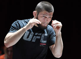 Khabib Nurmagomedov vows to beat Dustin Poirier in Abu Dhabi amid widespread Middle East support
