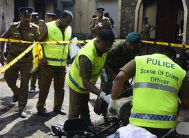 Toll in Sri Lanka bombings on Easter Sunday rises to 359