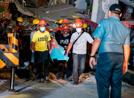 In pictures: Powerful earthquake hits Philippines