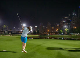 Lights, action as Dubai tees up first night time pro golf event