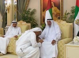 Gallery: UAE Rulers exchange Ramadan greetings with President Sheikh Khalifa