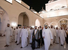 Gallery: Sultan Al Qasimi opens largest mosque in Sharjah