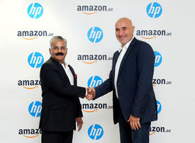 HP continues to partner with Amazon following the launch Amazon.ae