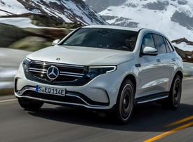 Gallery: The first electric vehicle from Mercedes-Benz