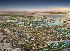 Contract awarded for $1.3bn Jubail Island
