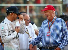 Emotional Mercedes boss dedicates record title to Niki Lauda