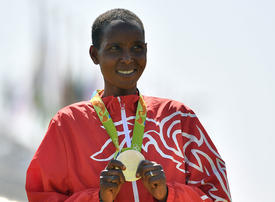 Bahrain's Olympic silver medallist Kirwa handed temporary doping ban