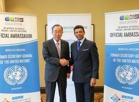 Dubai's Gems signs former UN chief Ban Ki-moon as ambassador