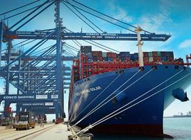 Khalifa Port receives world's largest mega-vessels